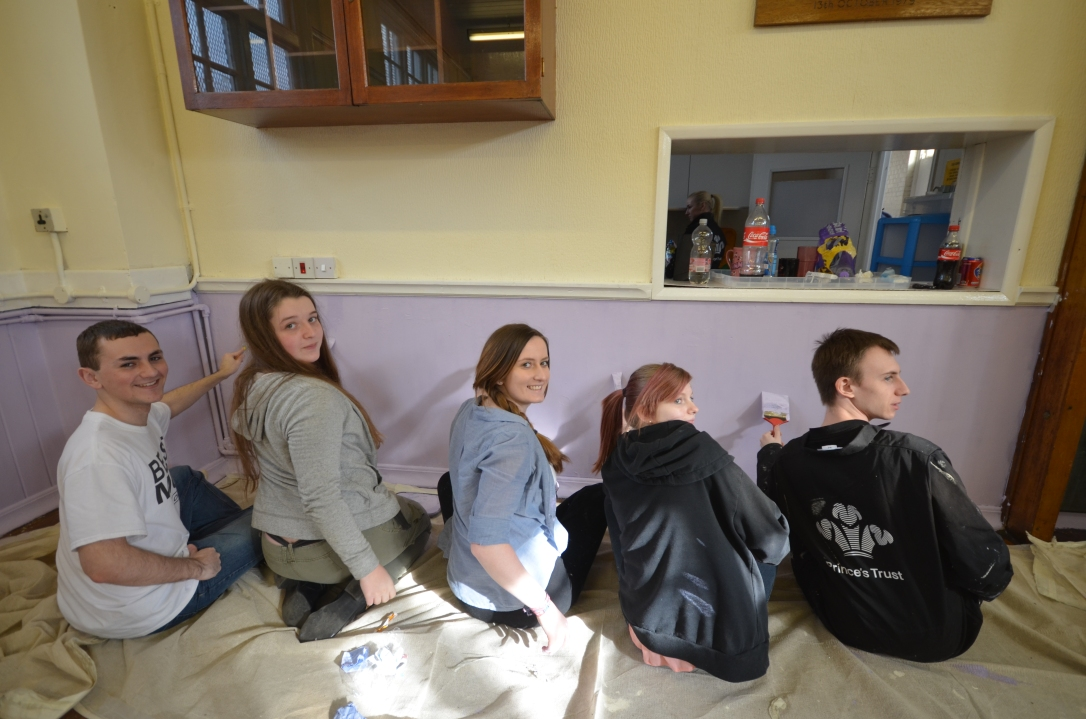 4 Prince's Trust Community Project